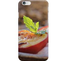 Cinnamon Baked Nectarines iPhone Case/Skin