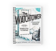 REMAIN LOYAL TO JEHOVAH! (WT Vintage) Spiral Notebook