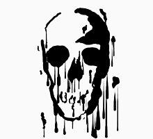 Splatter Skull (black) Unisex T-Shirt