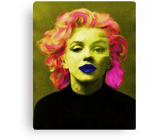 Paradox of Marylin Monroe  Canvas Print