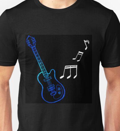 Blue Guitar  Unisex T-Shirt