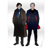 Sherlock and The Doctor Poster