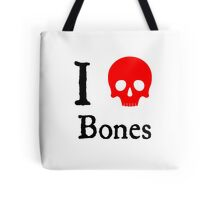 I Heart Bones Tote Bag