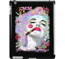 Marilyn post punk pop graffiti iPad Case/Skin