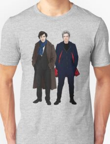Sherlock and The Doctor Unisex T-Shirt