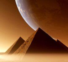 Pyramids Sticker