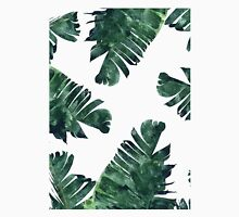 Banana Leaf #Watercolor Pattern #redbubble Unisex T-Shirt