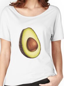 Avocado Pattern Women's Relaxed Fit T-Shirt