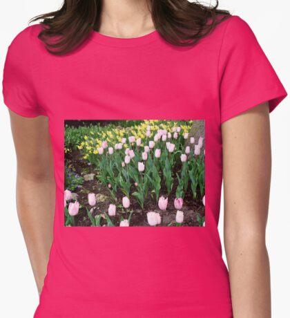 Tulips and Daffodils - Keukenhof Gardens Womens Fitted T-Shirt