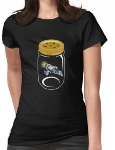 Firefly catch Womens Fitted T-Shirt