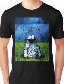 Spaceman Field Of Grass Unisex T-Shirt