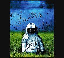 Spaceman Field Of Grass Unisex T-Shirt