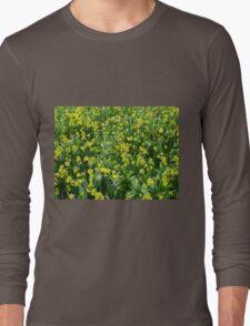 A Riot of Daffodils and Tulips - Keukenhof Gardens Long Sleeve T-Shirt