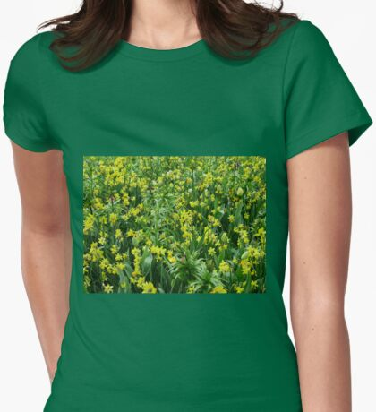 A Riot of Daffodils and Tulips - Keukenhof Gardens Womens Fitted T-Shirt