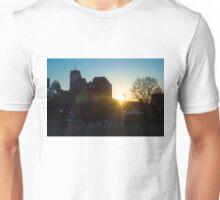 Sunset at Boston Common 2/2/16 Unisex T-Shirt