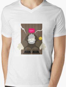 Hold the Door! Mens V-Neck T-Shirt