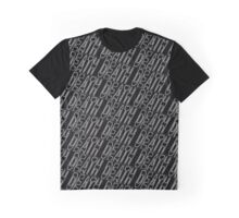 Death Grips Pattern Graphic T-Shirt