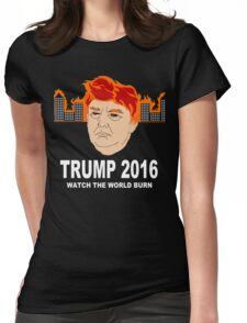 Sinister Trump Womens Fitted T-Shirt