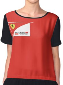 REAL SPORT TEAM FERRARI F1 Chiffon Top