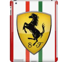 REAL SPORT TEAM FERRARI F1 iPad Case/Skin