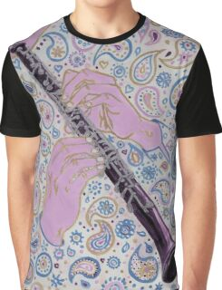 Oboe melody in paisley D sharp Graphic T-Shirt