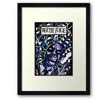 The Awful Juice Framed Print