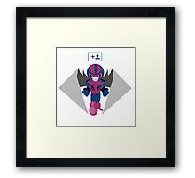 Archangel Started Following Apocalypse Framed Print