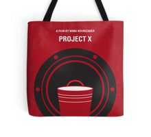 No393 My PROJECT X minimal movie poster Tote Bag