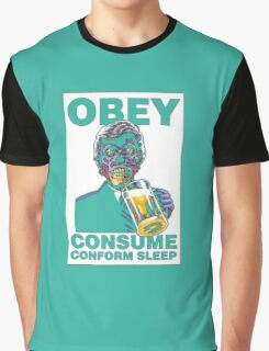 Obey Consume Graphic T-Shirt