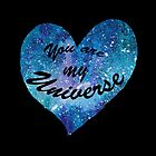 You are my Universe by DiBeauteous