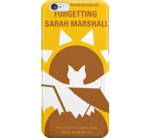 No394 My Forgetting Sarah Marshall minimal movie poster iPhone Case/Skin