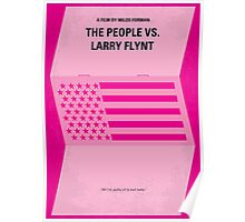 No395 My The People vs. Larry Flynt minimal movie poster Poster