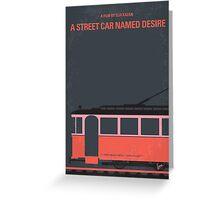 No397 My street car named desire minimal movie poster Greeting Card