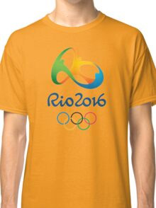 OLIMPIADE rio janeiro brazil Classic T-Shirt