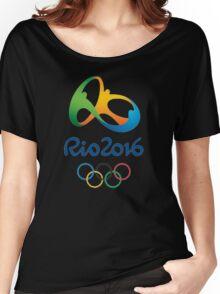 OLIMPIADE rio janeiro brazil Women's Relaxed Fit T-Shirt