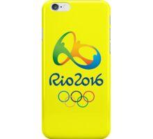 OLIMPIADE rio janeiro brazil iPhone Case/Skin