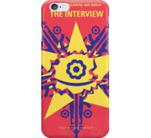 No400 My The Interview minimal movie poster iPhone Case/Skin