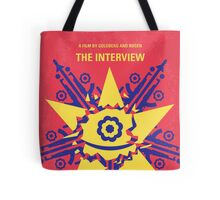 No400 My The Interview minimal movie poster Tote Bag