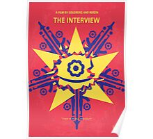 No400 My The Interview minimal movie poster Poster