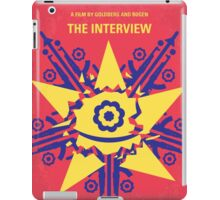 No400 My The Interview minimal movie poster iPad Case/Skin