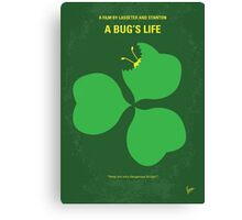 No401 My A Bugs Life minimal movie poster Canvas Print