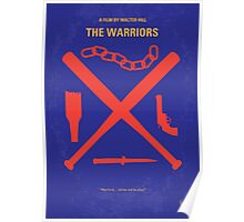 No403 My The Warriors minimal movie poster Poster