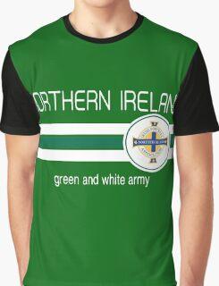 Euro 2016 Football - Northern Ireland (Green) Graphic T-Shirt