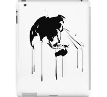 Splatter Earth 2 (black) iPad Case/Skin