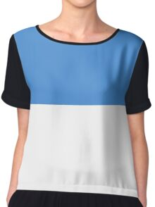 Planet of Hoth Flag Chiffon Top