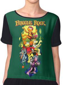 Fraggle Rock Chiffon Top