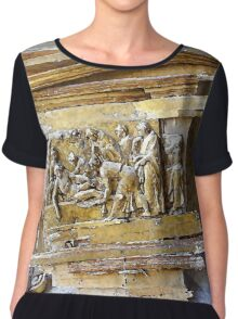 L'Aquila: collapsed church with rubble Chiffon Top