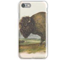John James Audubon - Bos americanus, Gmel, American Bison or Buffalo. 1-7   Male.1845 iPhone Case/Skin