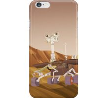 Curiosity and Opportunity iPhone Case/Skin