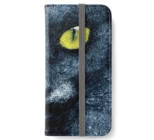 ORION LE CHAT BLEU iPhone Wallet/Case/Skin
